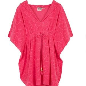 NWT Juicy Couture Martinique Hooded Caftan-size P